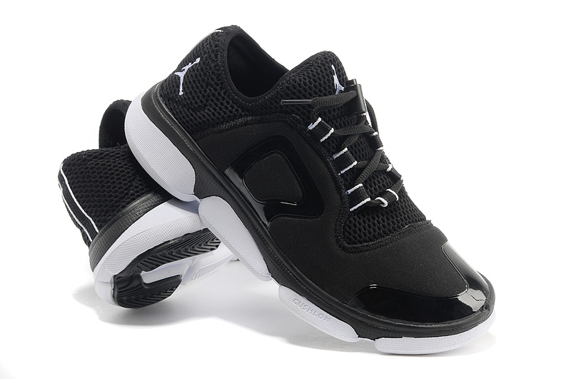 2013 Air Jordan Running Shoes Black White