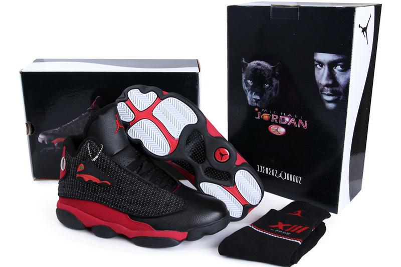 Air Jordan 13 Bred 2013 Black/Red