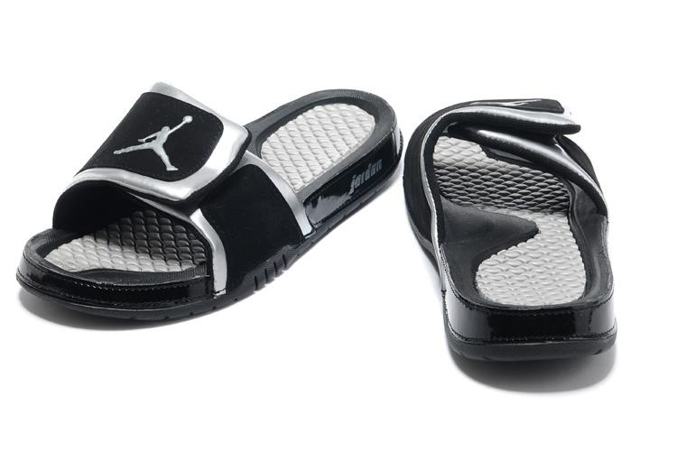 2013 Jordan Hydro 2 Black Silver Slipper.jpg