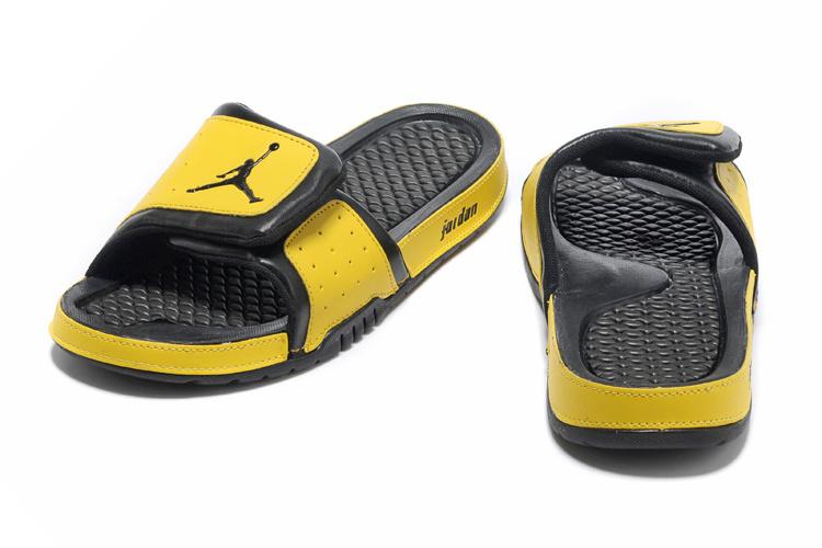 2013 Jordan Hydro 2 Black Yellow Slipper.jpg