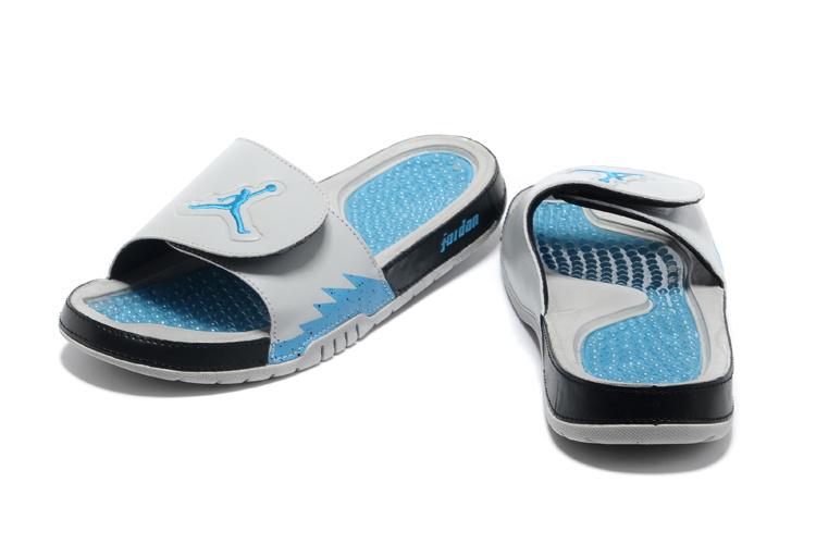 2013 Jordan Hydro 5 Grey Blue Black Slipper.jpg