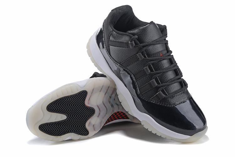 2015 Air Jordan 11 Retro Black Shoes