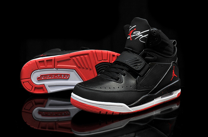 2015 Air Jordan Flight 97 Black Red