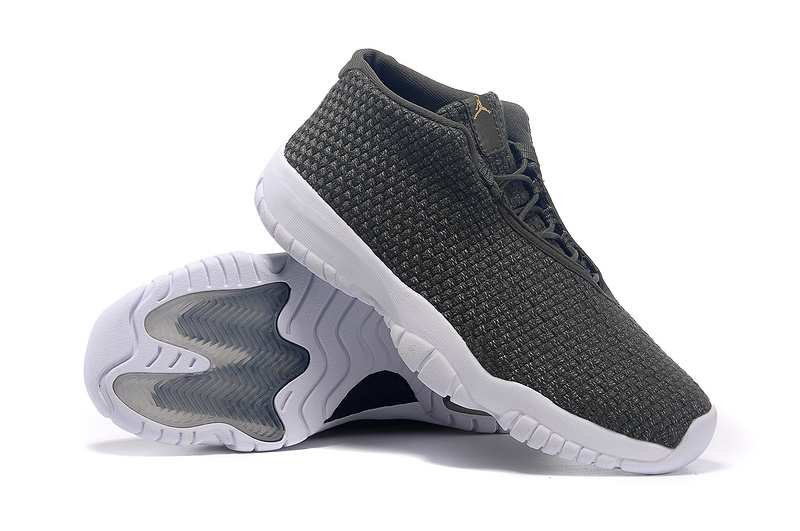 2015 Air Jordan Future Army Green White Shoes