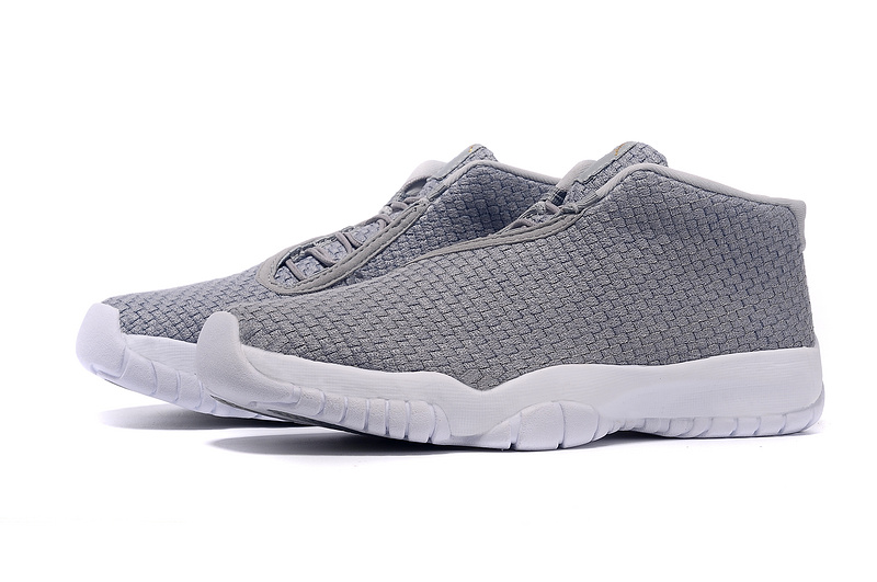 2015 Air Jordan Future Grey White Shoes