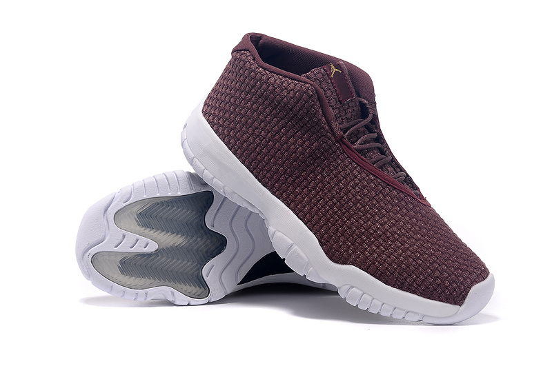 2015 Air Jordan Future Wine Red White Shoes