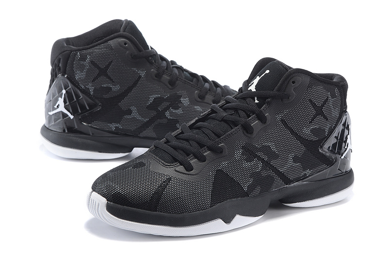 2015 Air Jordan Super Fly 4 All Black Shoes