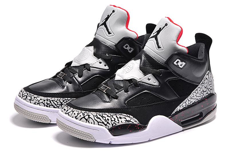 2015 Black Grey Jordan Son of Mars Low Shoes