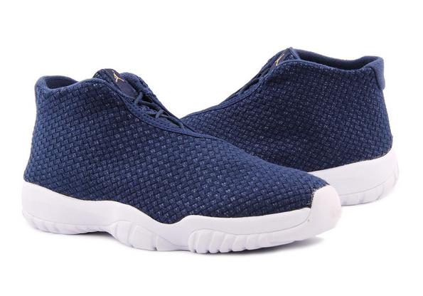 2015 Deep Blue White Jordan Future 11 Shoes