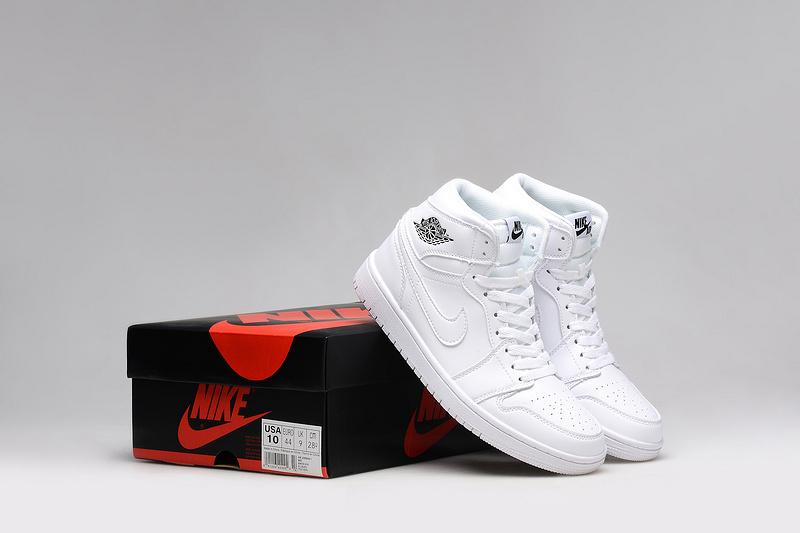 2015 Jordan 1 All White Shoes