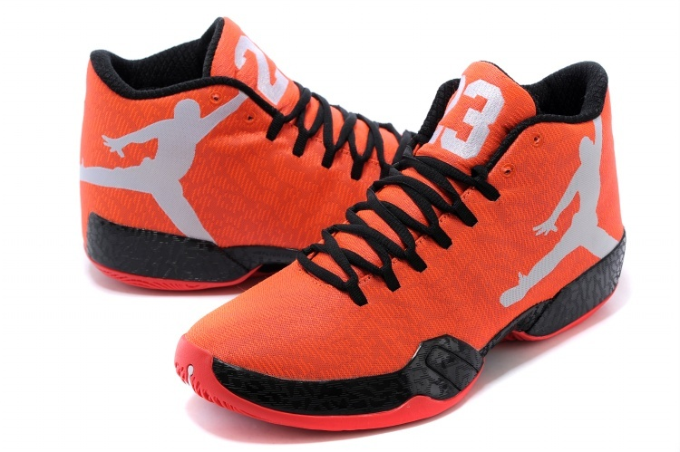 Latest Air Jordan 29 Orange Black Grey Shoes