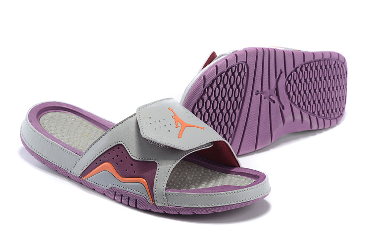 2015 Jordan 7 Retro Hydro Grey Purple Orange
