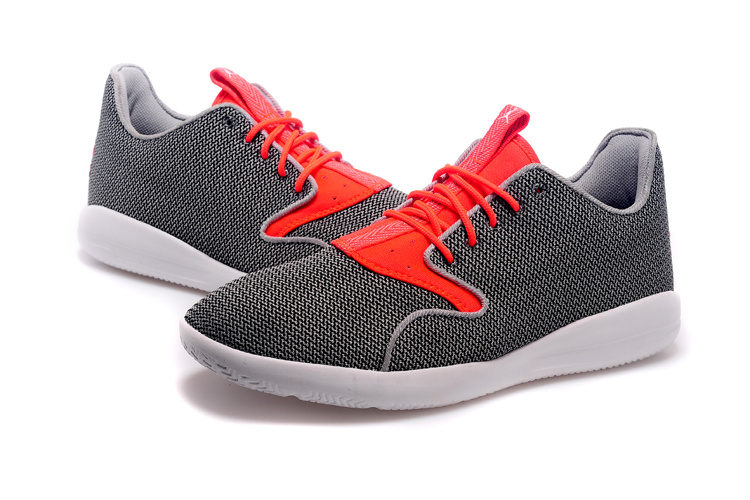 2015 Jordan Elipse Grey Red White Shoes