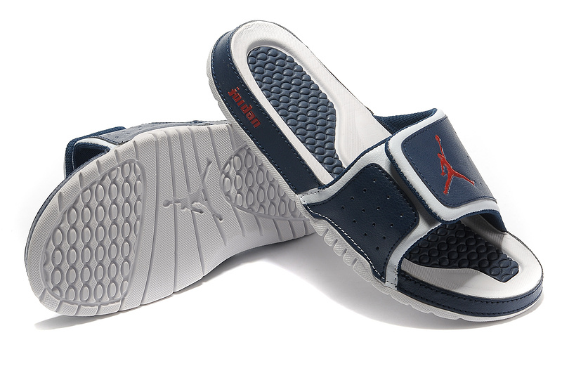 2015 Jordan Hydro 2 Dark Blue Red White Sandal