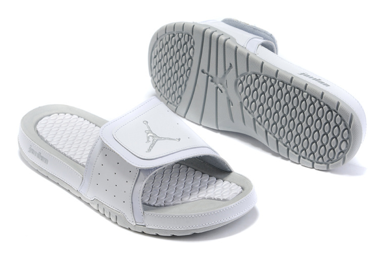 2015 Jordan Hydro 5 All Grey Sandal
