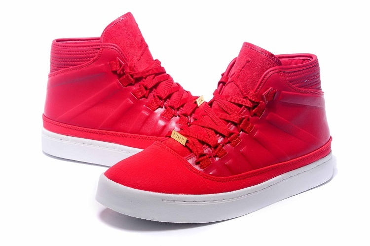 2015 Jordan Westbrook 0 1 Red White Shoes