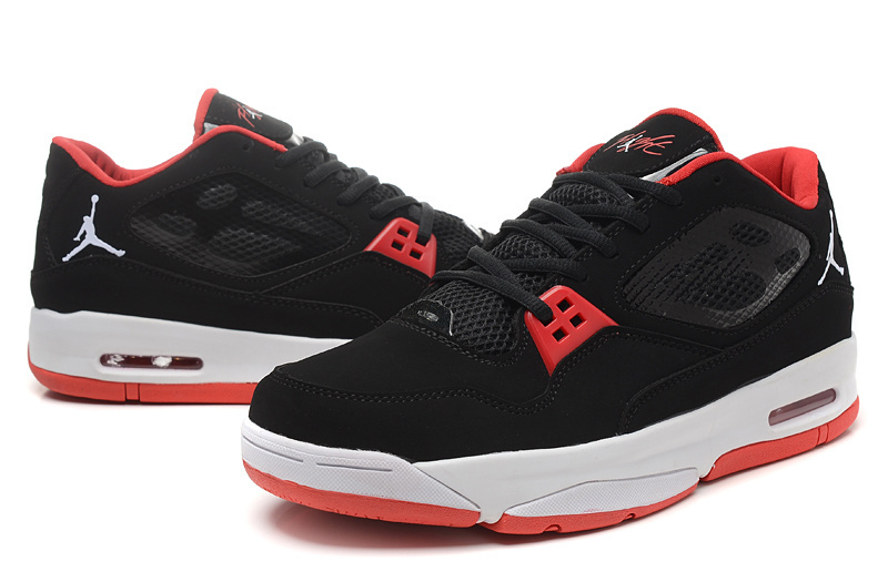 2015 Original Air Jordan Flight 23 RST Low Black Red Shoes