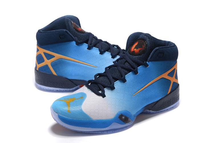 jordan shoes 1 30. 2016 air jordan 30 blue black orange shoes 1