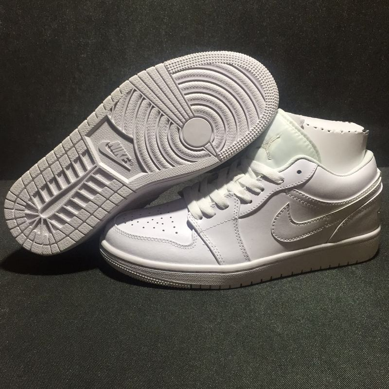 2016 Jordan 1 Low All White