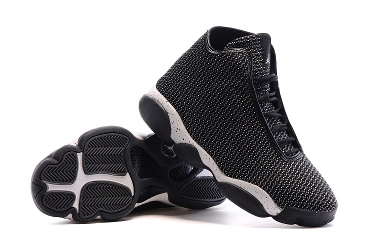 2016 Air Jordan Horizon of AJ13 Black White Shoes