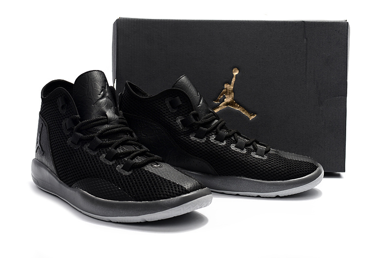 2017 Air Jordan All Black Casual Shoes