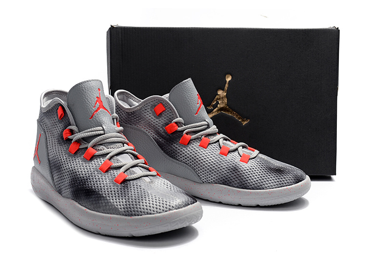 2017 Air Jordan Grey Black Red Casual Shoes