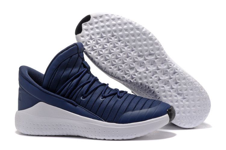 2017 Jordan Flight Luxe Royal Blue White Shoes