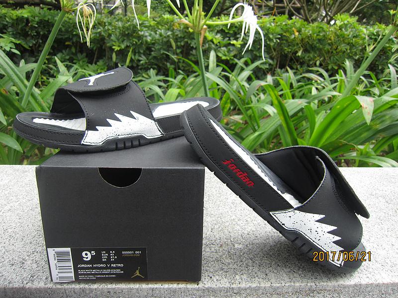 2017 Jordan Hydro Black White Sandal