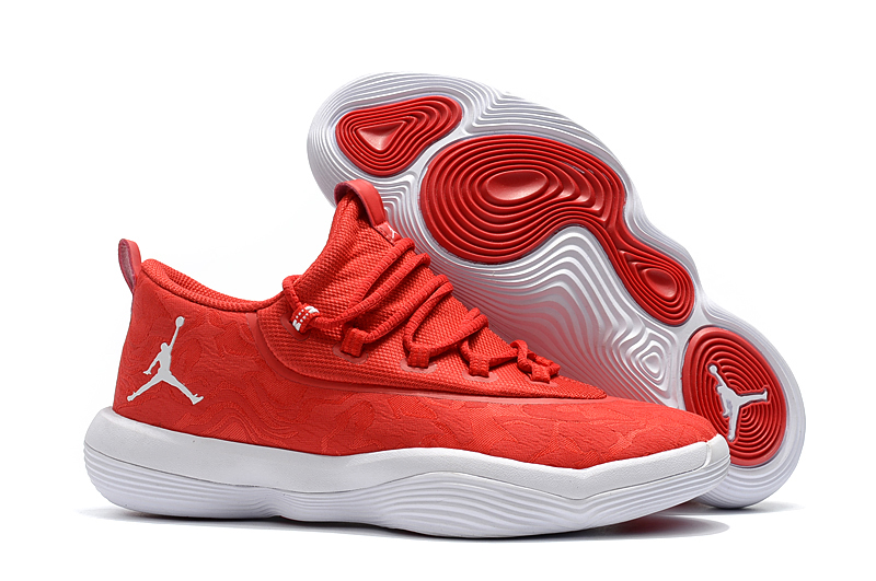 2018 Jordan Griffin Red White Shoes