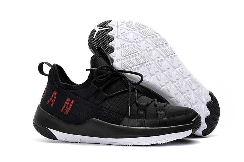 2018 Jordan Training Shoes Black Red White