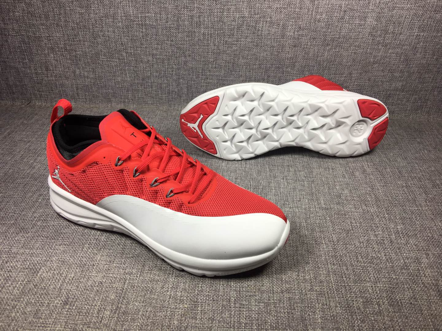 2018 New Air Jordan 12 Low Red White Shoes