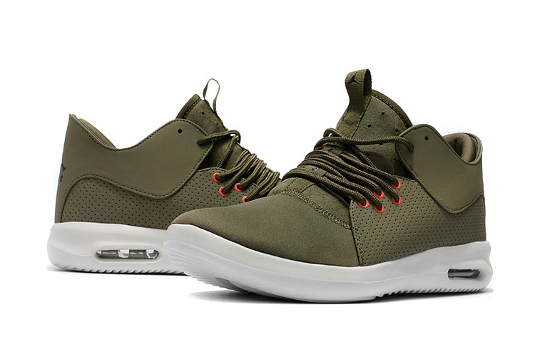 2018 Air Jordan Running Shoes Army Green