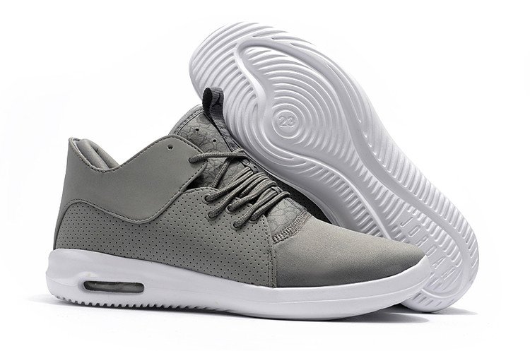 2018 Air Jordan Running Shoes Grey White