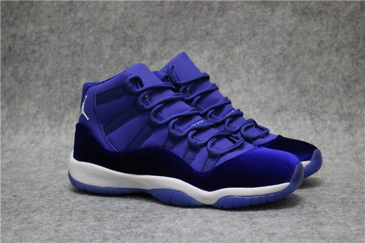 new air jordan 11 high royal blue shoes