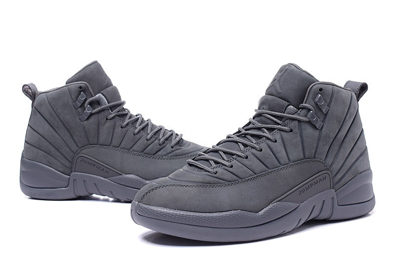 Air Jordan 12 PSNY Carbon Fibre All Black Shoes
