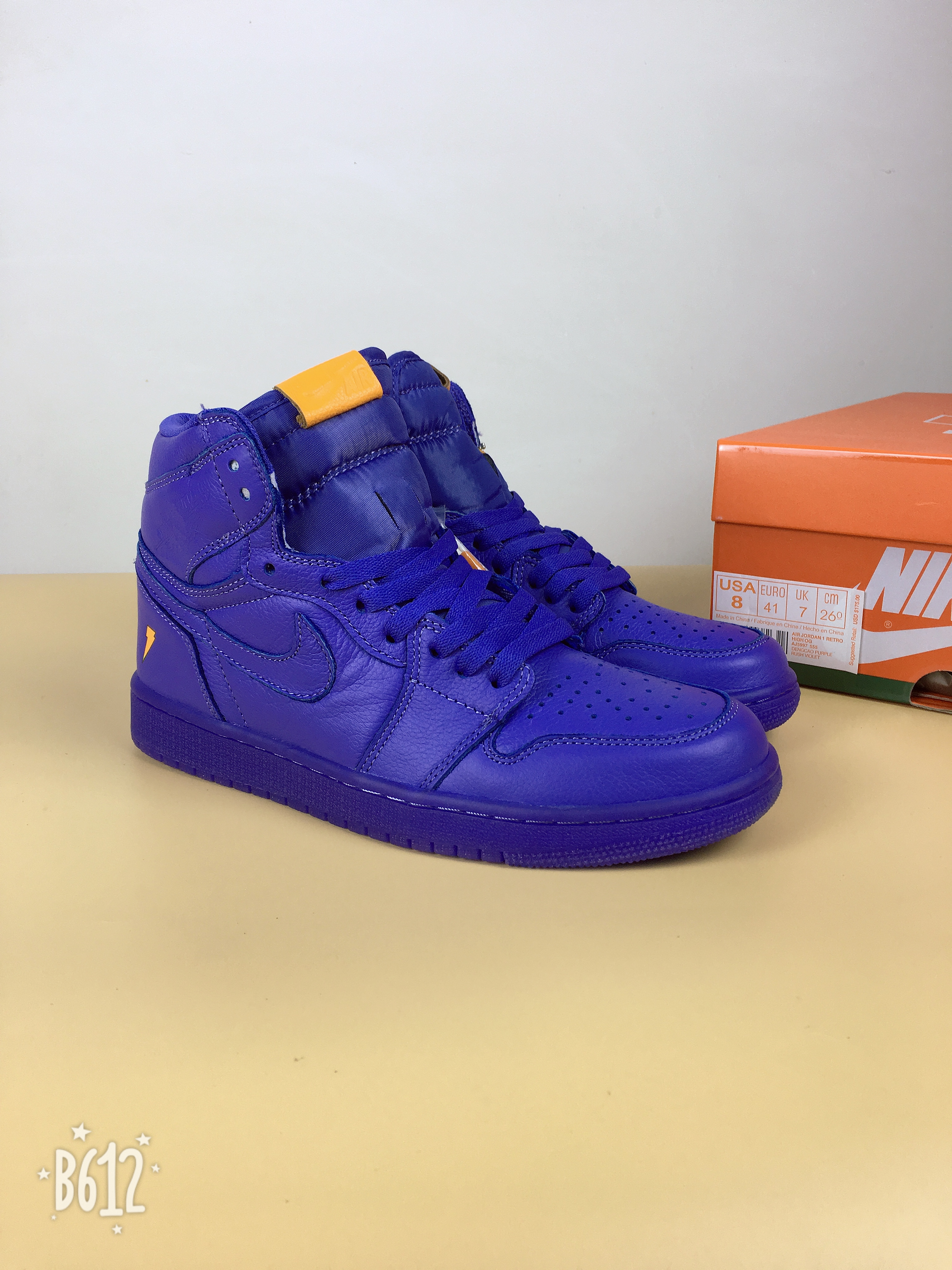 "Air Jordan 1 Gatorade ""Grape""Shoes"