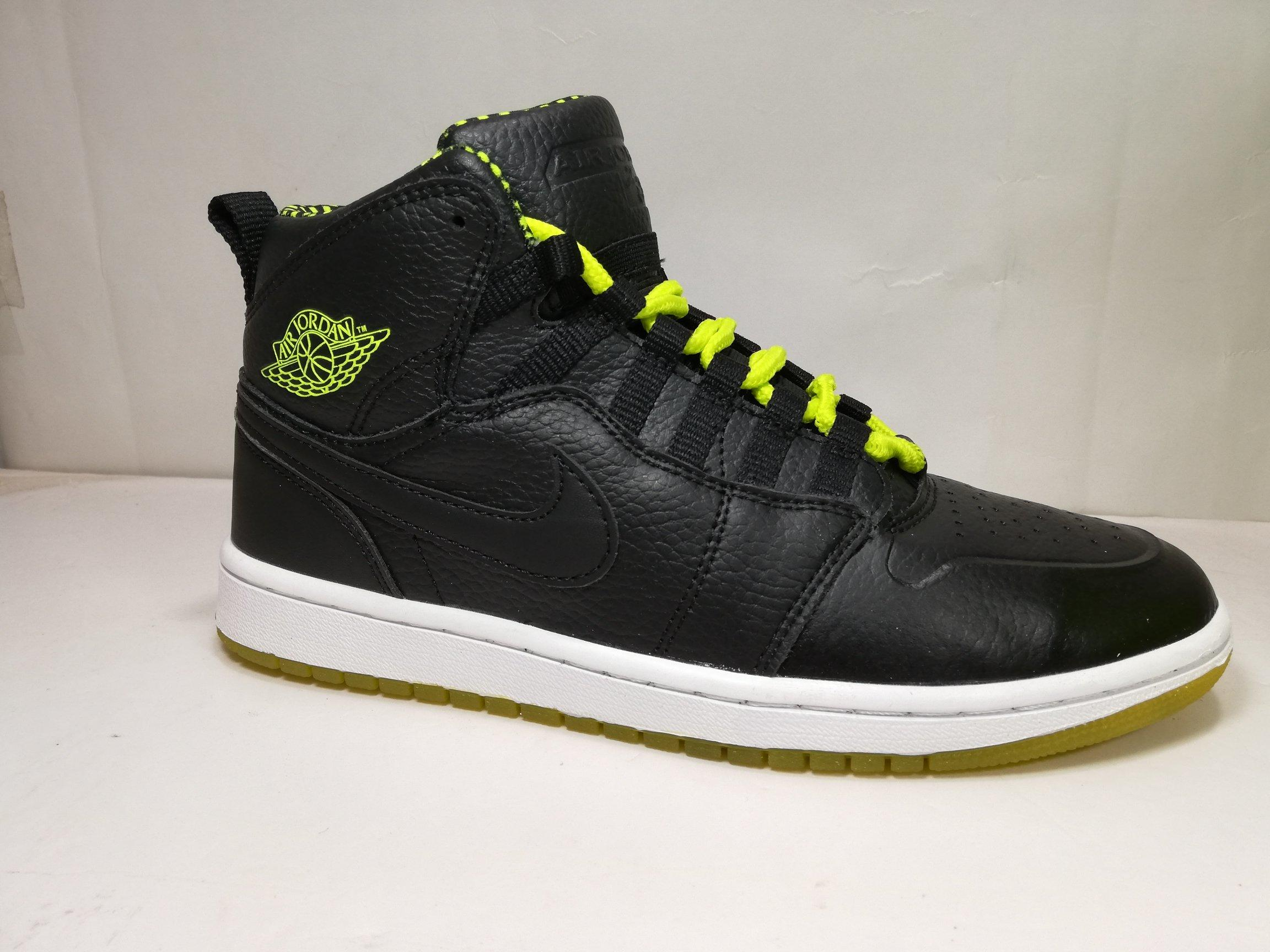 Air Jordan 1 Retro Low Black Yellow White Casual Shoes