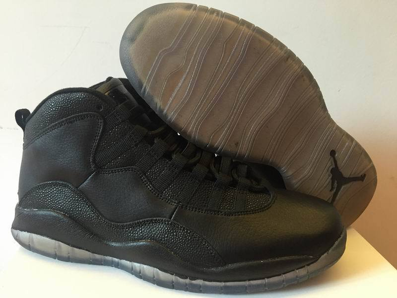 2016 Jordan 10 OVO Black Shoes