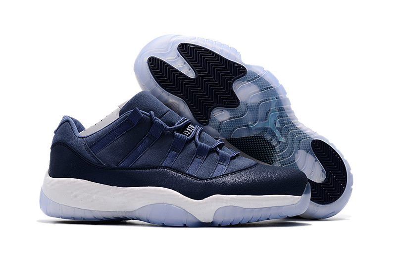 Air Jordan 11 Low Blue Moon Shoes