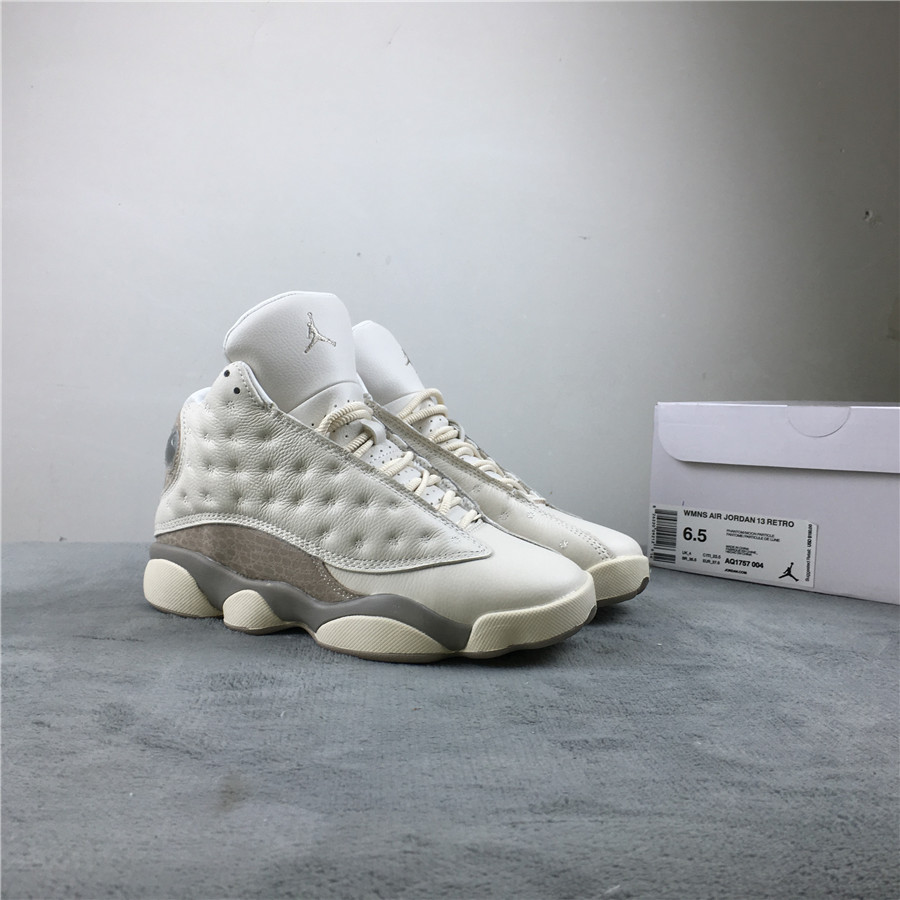 Air Jordan 13 Phantom White Grey Shoes
