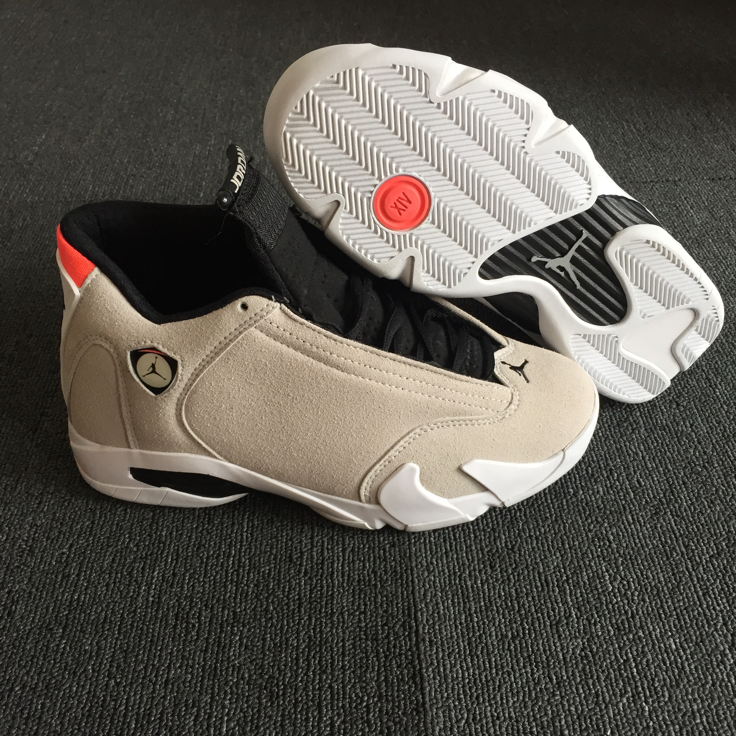 Air Jordan 14 Desert Sand Official Photos Shoes