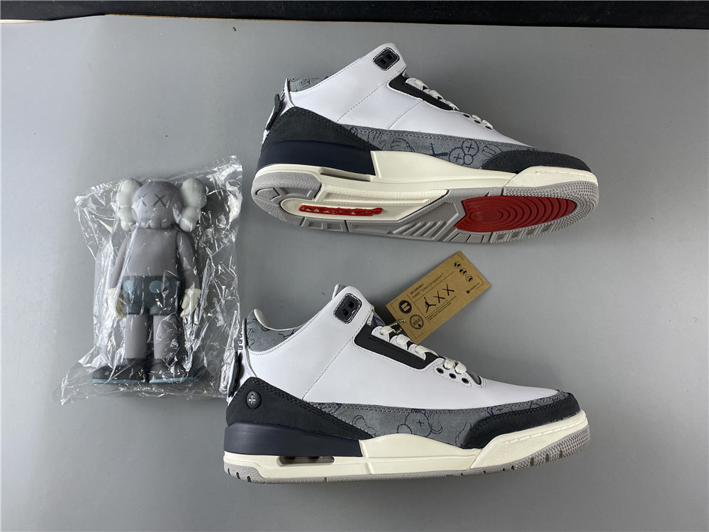 Air Jordan 3 KAWS Companion Shoes