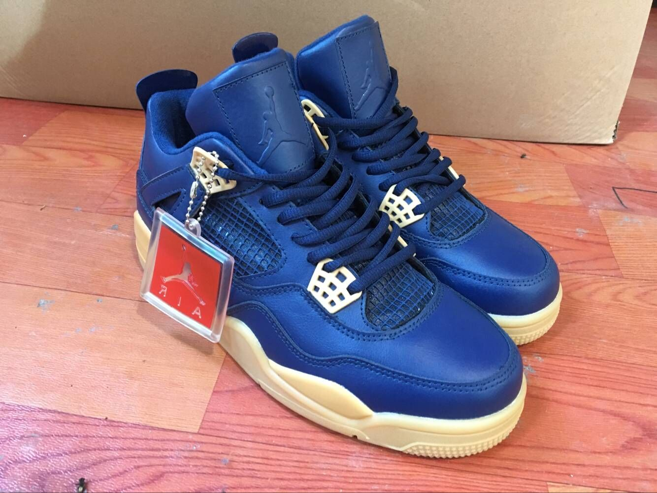 Air Jordan 4 Bekaa Blue Shoes