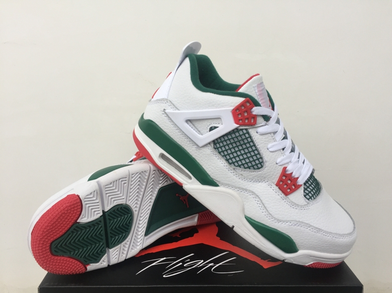 Air Jordan 4 NRG Gucci White Green Red Shoes