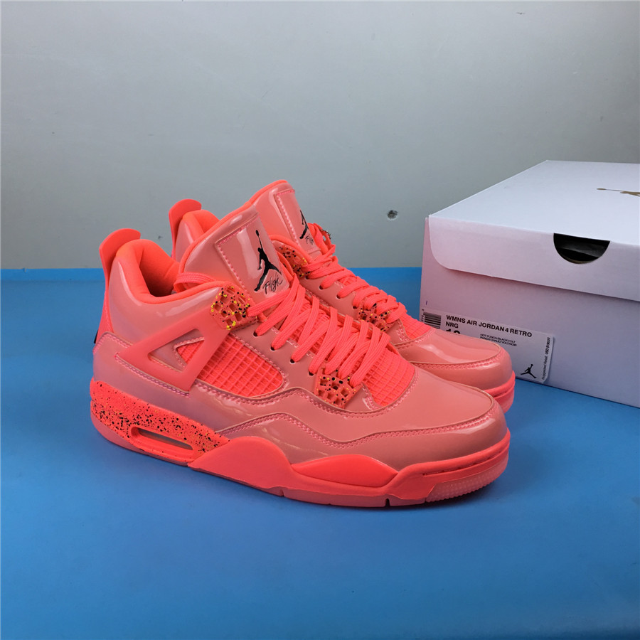 Air Jordan 4 NRG Hot Punch Shoes