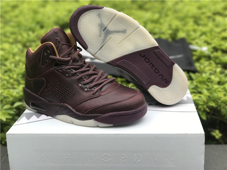 Air Jordan 5 Premium Bordeaux Shoes