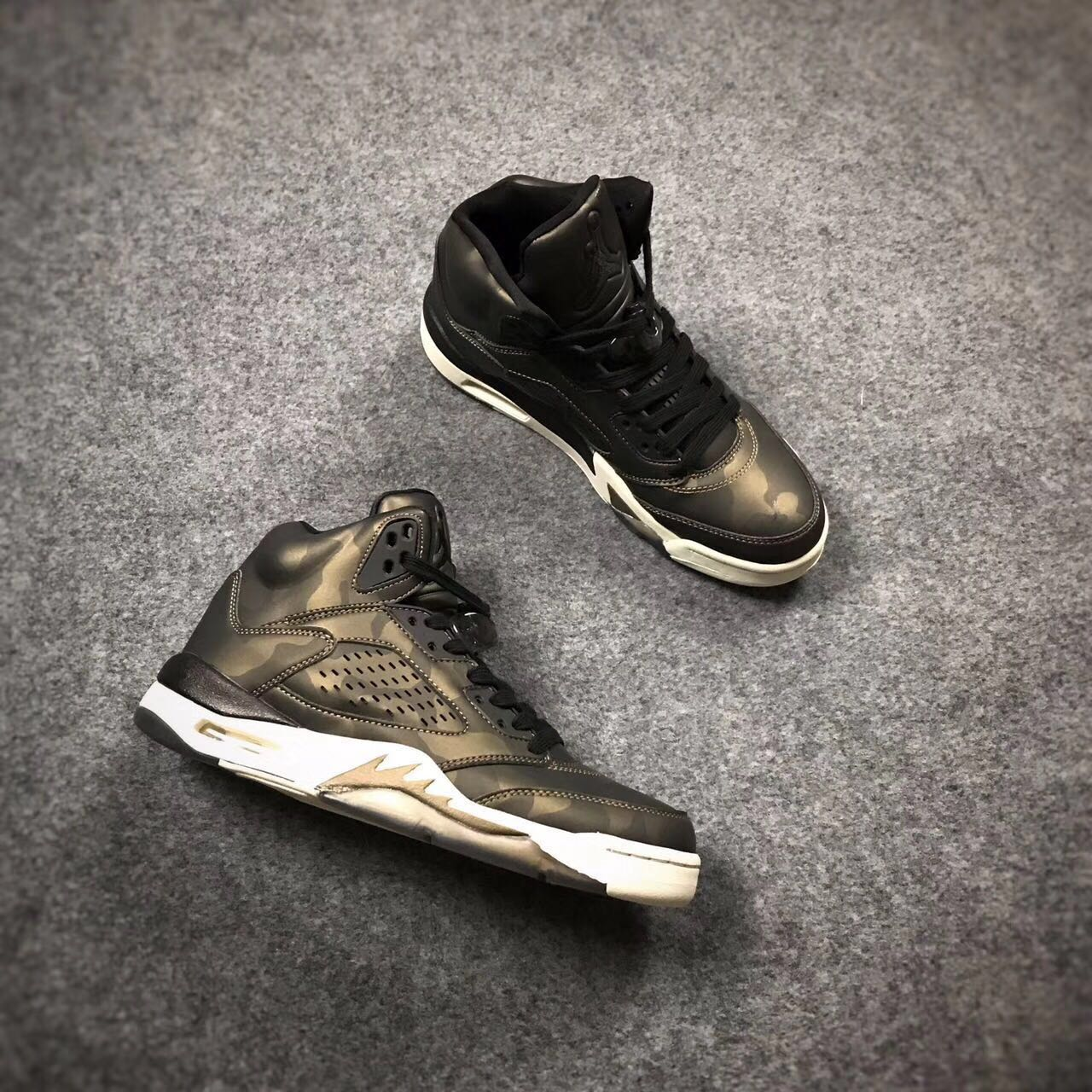 Air Jordan 5 Premium Heiress Metallic Field Shoes