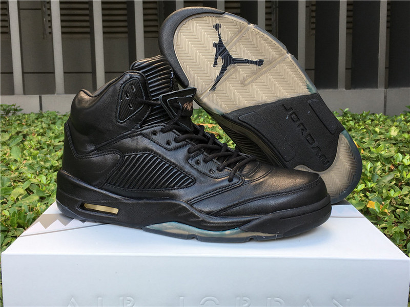 Air Jordan 5 Premium Pinnacle Black Shoes