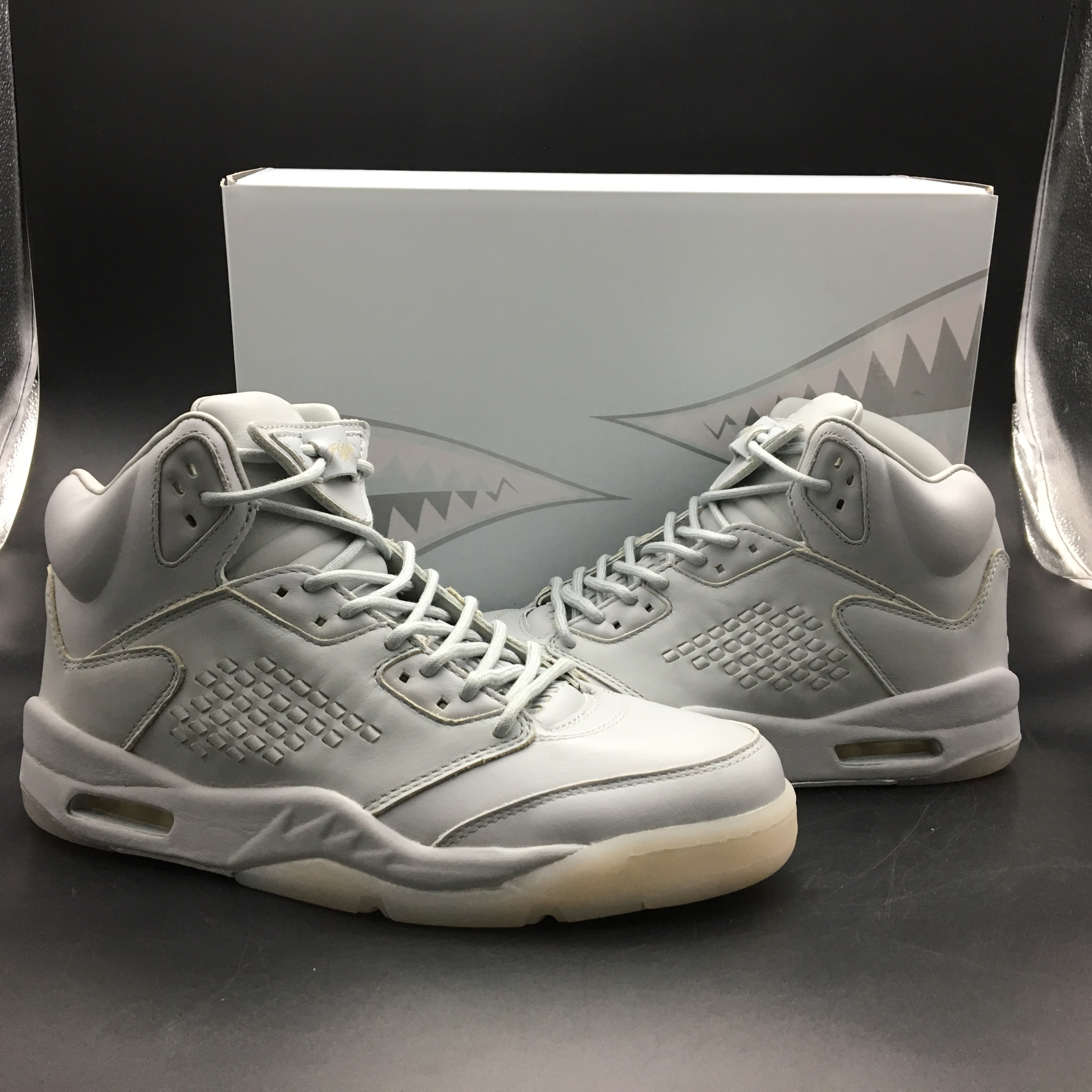 Air Jordan 5 Premium Pinnacle Grey Shoes