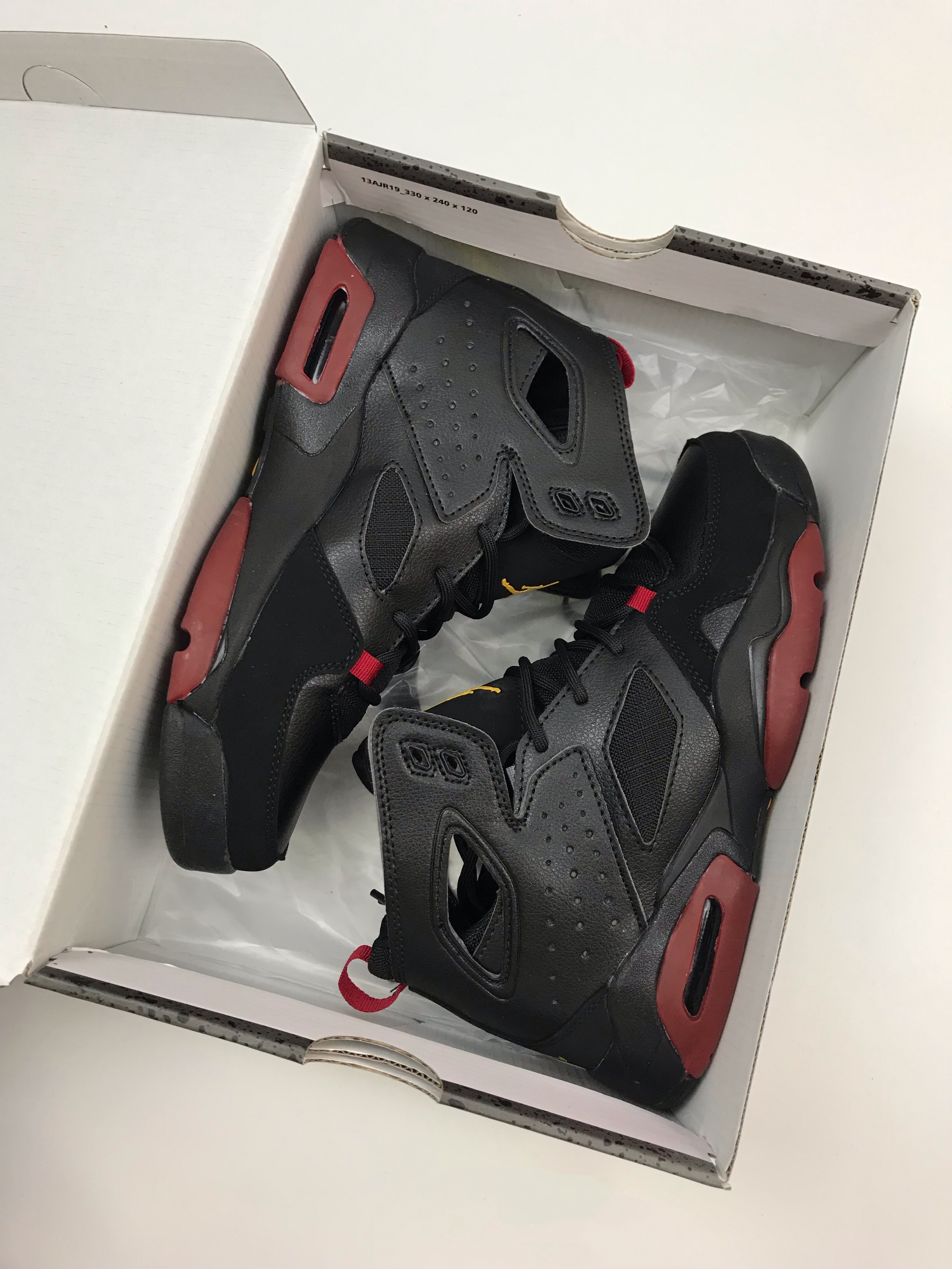 Air Jordan 6 '91 Black Red Shoes